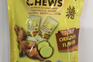 100% Natural Ginger Chews