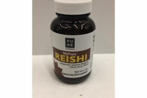 REISHI LONGEVITY, IMMUNE SUPPORT, WHOLE BODY TONIC MUSHROOM SUPPLEMENT