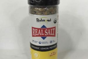ORGANIC LEMON PEPPER REAL SALT