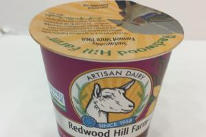 Artisan Dairy Goat Milk Yogurt