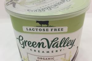 Organic Vanilla Lowfat Yogurt