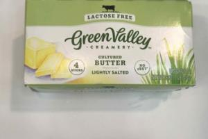 LIGHTLY SALTED CULTURED BUTTER CREAMERY