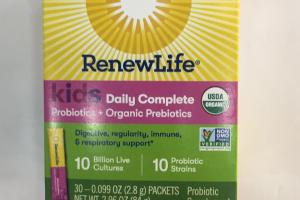 Kids Daily Complete Probiotic Supplement