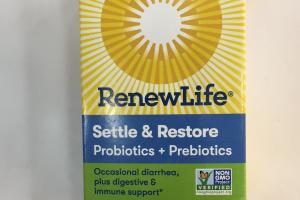 Settle & Restore Probiotics + Prebiotics Probiotic Supplement