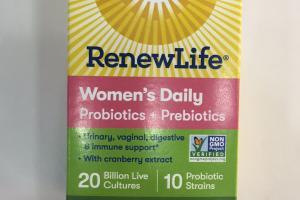 Women's Daily Probiotic Supplement