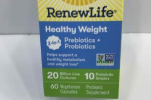 HEALTHY WEIGHT PREBIOTICS + PROBIOTICS SUPPLEMENT VEGETARIAN CAPSULES