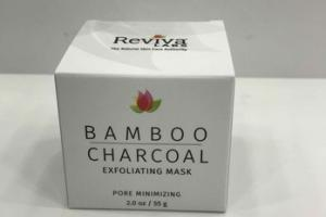 BAMBOO CHARCOAL EXFOLIATING PORE MINIMIZING MASK