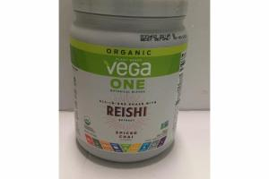 SPICED CHAI FLAVORED BOTANICAL BLENDS ALL-IN-ONE SHAKE WITH REISHI EXTRACT