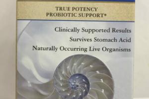 20 BILLION TRUE POTENCY PROBIOTIC SUPPORT DIETARY SUPPLEMENT VEGETABLE CAPSULES