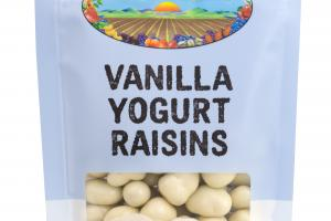 Vanilla Yogurt Raisins