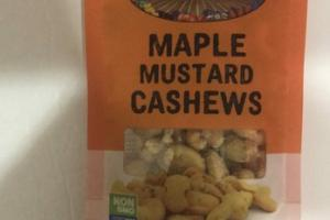 MAPLE MUSTARD CASHEWS