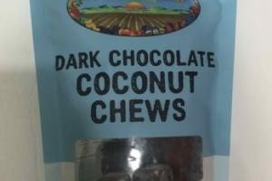DARK CHOCOLATE COCONUT CHEWS