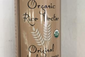 Organic Natural Rice Syrup Nectar