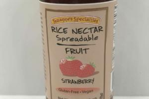 STRAWBERRY RICE NECTAR SPREADABLE FRUIT