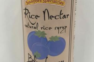 BLUEBERRY RICE NECTAR NATURAL RICE SYRUP