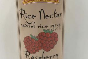 RASPBERRY RICE NECTAR NATURAL RICE SYRUP