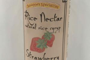 STRAWBERRY NATURAL RICE NECTAR SYRUP