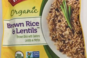 Organic Brown Rice & Lentils