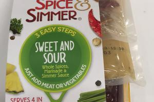 Whole Spices, Marinade & Simmer Sauce