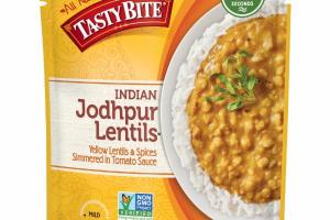 INDIAN JODHPUR LENTILS YELLOW LENTILS & SPICES SIMMERED IN TOMATO SAUCE