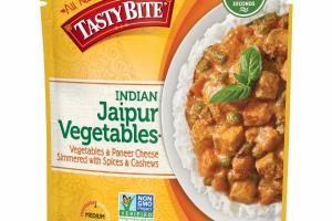 INDIAN JAIPUR VEGETABLES & PANEER CHEESE SIMMERED WITH SPICES & CASHEWS