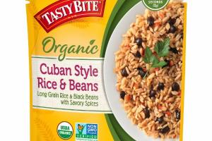 CUBAN STYLE LONG GRAIN RICE & BLACK BEANS WITH SAVORY SPICES