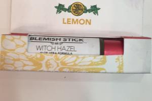 Blemish Stick, Lemon