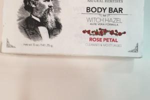 Body Bar, Rose Petal Cleanses & Moisturizes