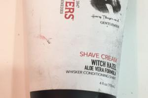 Shave Cream Witch Hazel