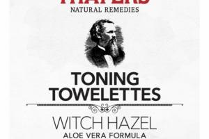 WITCH HAZEL TONING TOWELETTES, ALOE VERA FORMULA, UNSCENTED