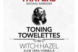 TONING TOWELETTES, CUCUMBER