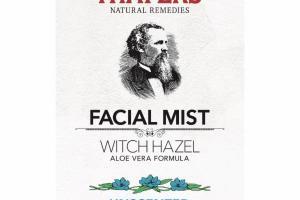 WITCH HAZEL ALOE VERA FORMULA UNSCENTED FACIAL MIST