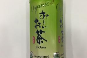 Organic Oi Ocha Unsweetened Green Tea