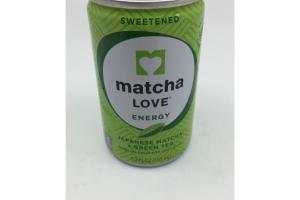 SWEETENED JAPANESE MATCHA + GREEN TEA