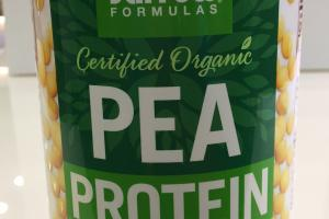 Pea Protein Supplement Powder