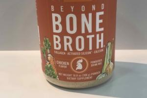 BEYOND BONE BROTH POWDERED DRINK MIX DIETARY SUPPLEMENT, CHICKEN