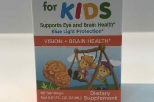 LUTEIN + FOR KIDS SUPPORTS EYE AND BRAIN HEALTH DIETARY SUPPLEMENT LIQUID DROPS