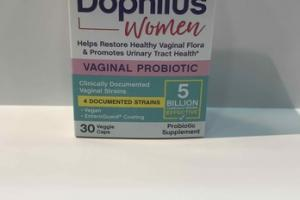 JARRO-DOPHILUS WOMEN VAGINAL PROBIOTIC SUPPLEMENT VEGGIE CAPS