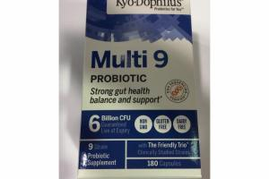MULTI 9 PROBIOTIC CAPSULES SUPPLEMENT