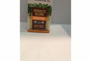 SPROUTS BLEND DIGESTION POWDERED DRINK MIX NUTRITIONAL SUPPLEMENT