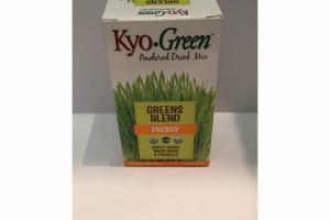 GREENS BLEND ENERGY POWDERED DRINK MIX NUTRITIONAL SUPPLEMENT