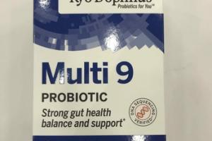 MULTI 9 STRONG GUT HEALTH BALANCE AND SUPPORT PROBIOTIC SUPPLEMENT
