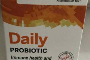 DAILY PROBIOTIC IMMUNE HEALTH AND DIGESTIVE SUPPORT SUPPLEMENT CAPSULES