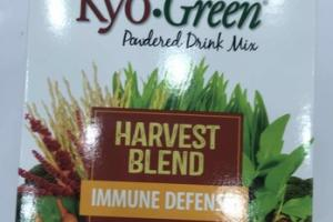 HARVEST BLEND SUPERFOODS, GRASSES, FRUITS & VEGGIES IMMUNE DEFENSE POWDERED DRINK MIX NUTRITIONAL SUPPLEMENT