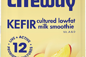 Kefir Cultured Lowfat Milk Smoothie