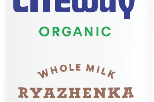 Organic Ryazhenka Baked Cultured Whole Milk