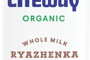 Organic Ryazhenka Baked Cultured Whole Milk