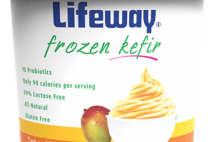Tart And Tangy Frozen Kefir