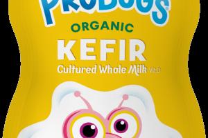 Strawberry Banana Organic Kefir Cultured Whole Milk