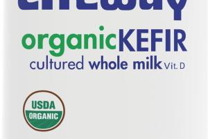 Organic Kefir Cultured Whole Milk